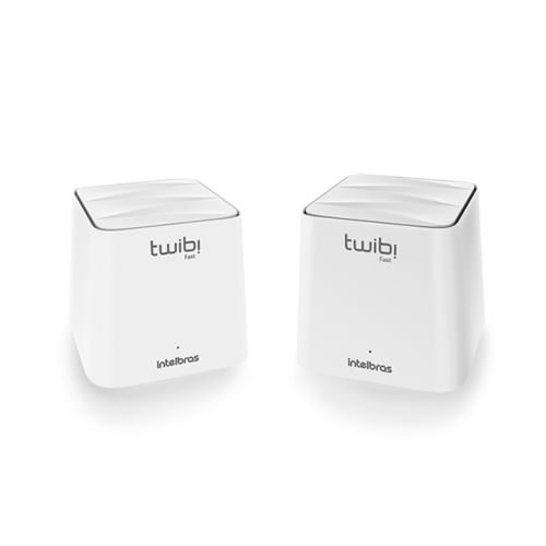 KIT 2 Roteadores Sistema WiFi Mesh Intelbras TWIBI FAST Dual Band 100m²  - Ziko Shop