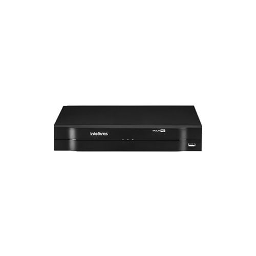 KIT 3 Câmeras Dome HD 720p + DVR Intelbras 4 Canais HD + Acessórios   - Ziko Shop