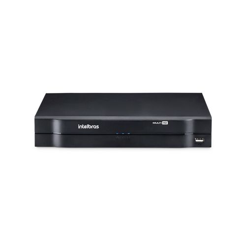 KIT 3 Câmeras Alta Resolução + DVR Intelbras 4 Canais HD + Acessórios  - Ziko Shop