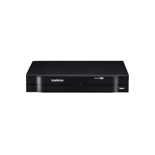 KIT 3 Câmeras Intelbras VHL 1120 B + DVR Intelbras 4 Canais HD + HD (Disco Rígido) + Acessórios  - Ziko Shop