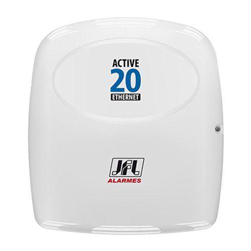 KIT Alarme Active 20 E JFL + 08 sensores s/fio + Acessórios  - Ziko Shop