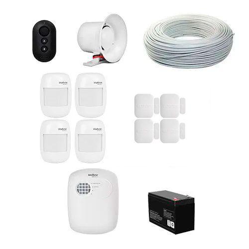 KIT Alarme ANM 3004 ST Intelbras + 8 Sensores sem fio + Acessórios  - Ziko Shop