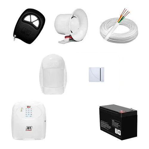 KIT Alarme Brisa Cell 804 JFL + 02 sensores c/fio + Acessórios  - Ziko Shop