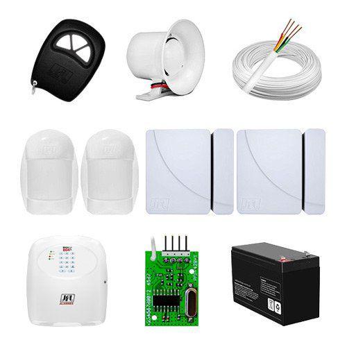 KIT Alarme Brisa Cell 804 JFL + 04 sensores c/fio + Acessórios  - Ziko Shop