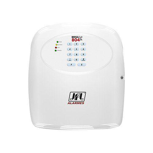 KIT Alarme JFL Brisa Cell 804 + 10 sensores c/fio + Acessórios  - Ziko Shop