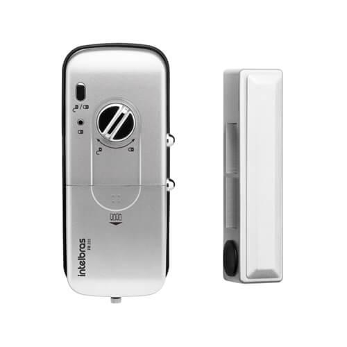 KIT Controle de Acesso Intelbras FR 201 + Fechadura Elétrica  - Ziko Shop