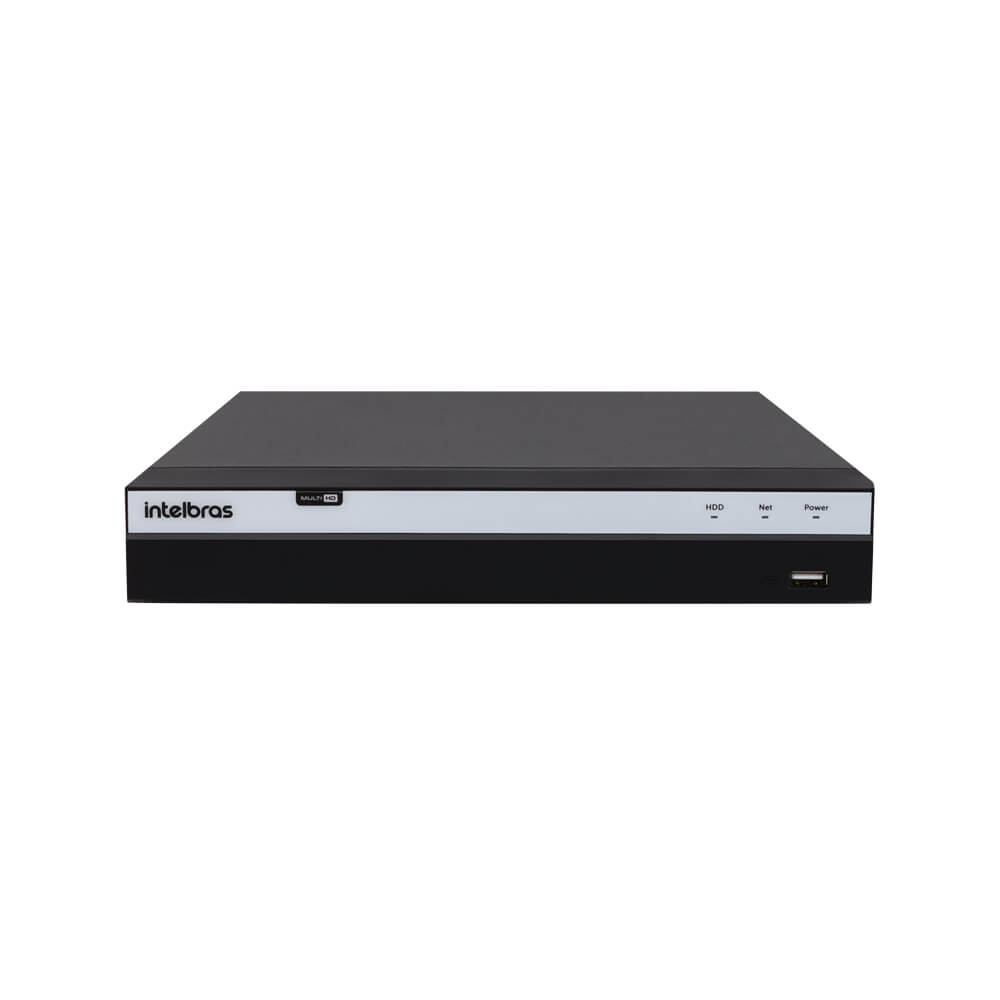 KIT DVR Intelbras Full HD + 6 Câmeras VHD 3230 B Full HD + Acessórios  - Ziko Shop