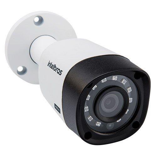 KIT DVR Intelbras MHDX + 2 Câmeras VHD 3130 B G4 + Acessórios (Instale você mesmo)  - Ziko Shop