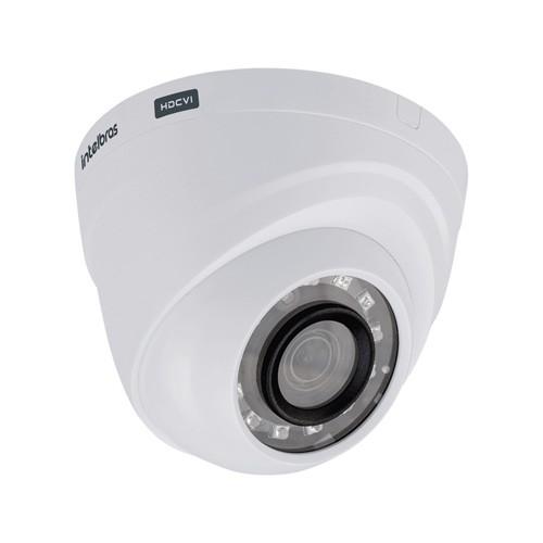 KIT DVR Intelbras MHDX + 4 Câmeras VHD 1120 D G4 + HD + Acessórios. (Instale você mesmo)  - Ziko Shop