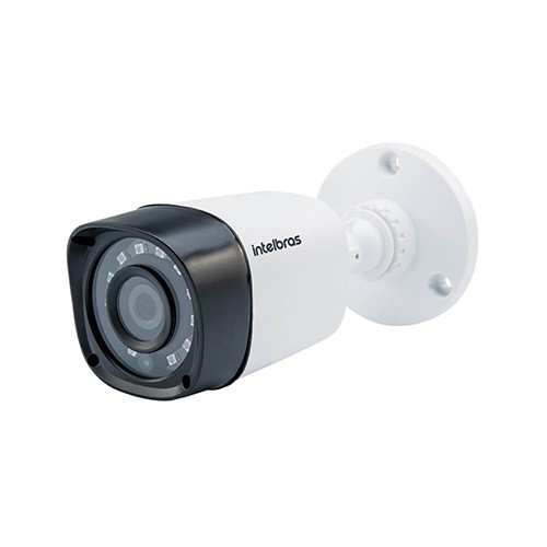 KIT DVR Intelbras MHDX + 5 Câmeras VHD 1010 B G4 + Acessórios  - Ziko Shop