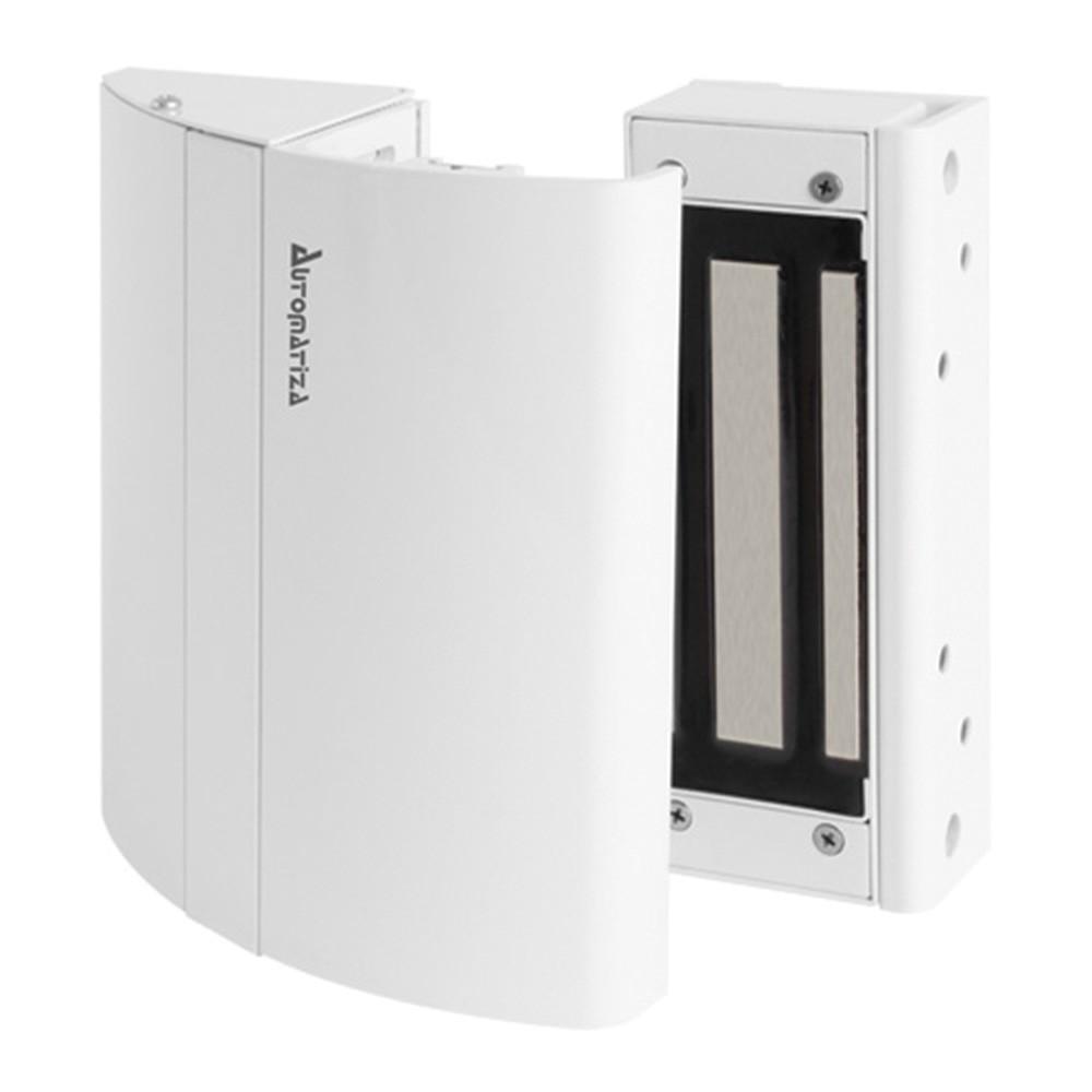 Fechadura Eletroímã Automatiza 150kgf - KIT ELITE (Portas de Madeira, Vidro e Divisória)  - Ziko Shop