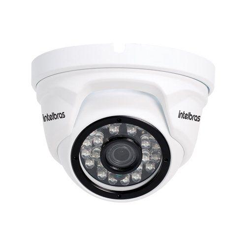 KIT 4 Câmeras IP Intelbras VIP 1120 D + NVD Intelbras 4 Canais HD + Acessórios  - Ziko Shop