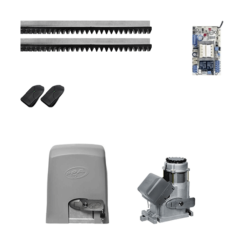 KIT Portão Deslizante PPA DZ Fort 3/4 HP 13s* 1000 kg 3 Metros  - Ziko Shop