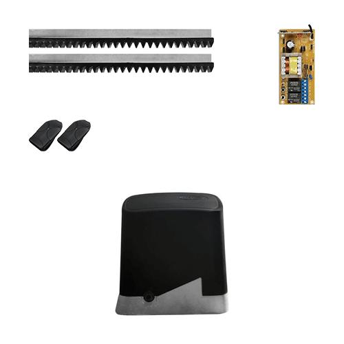 KIT Portão Deslizante PPA DZ Home 1/4 HP 13s* 300kg 3 Metros  - Ziko Shop