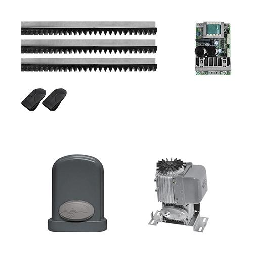 KIT Portão Deslizante Eurus Steel Jet Flex PPA 1/2 HP 4,5s* 800 kg  - Ziko Shop