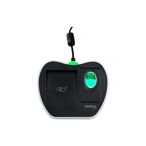 Leitor cadastrador biométrico com RFID CM 350 Intelbras  - Ziko Shop
