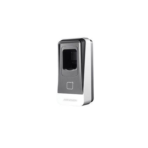 Leitor de biometria e cartão de aproximação Hikvision DS-K1201EF  - Ziko Shop
