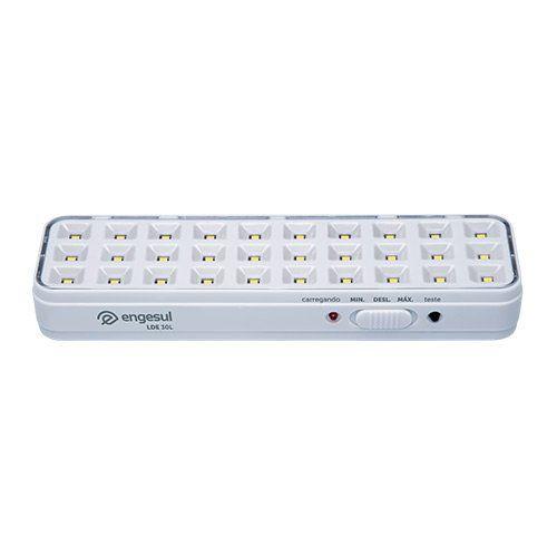 Luminária de emergência autônoma LDE 30L Intelbras  - Ziko Shop