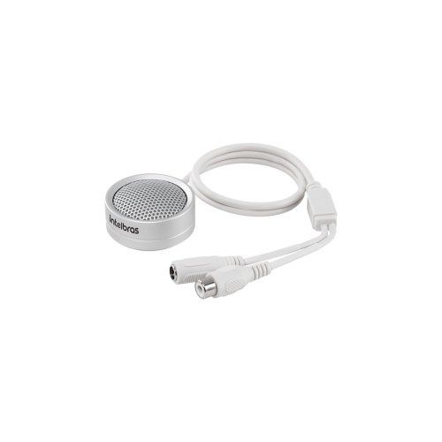 Microfone para CFTV Intelbras MIC 3070 70m²  - Ziko Shop