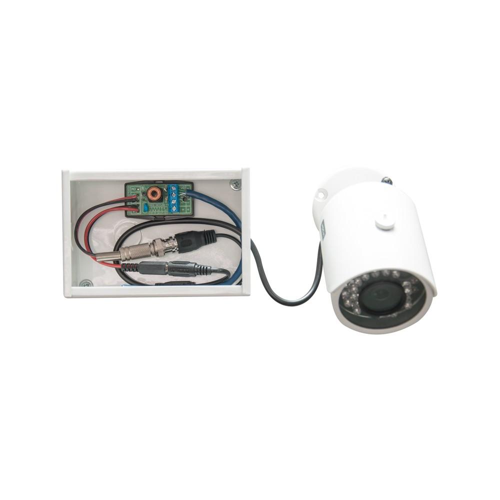 Mini Organizador Para Câmera + 01 Balun Titan Hibrído (Cabo UTP Lan) - Onix Security (Cod.2771)  - Ziko Shop