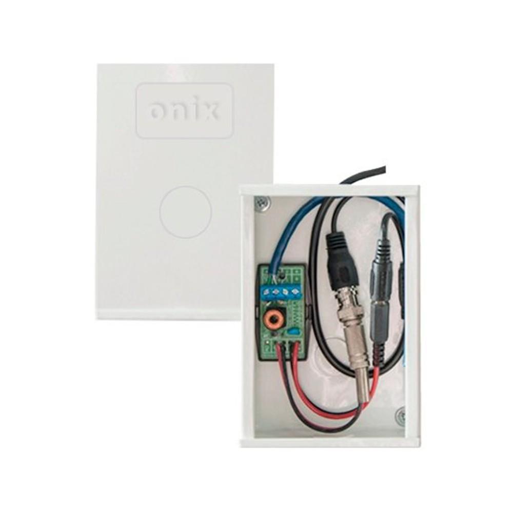 Mini Organizador Para Câmera + 01 Titan Protetor de Surto (Cabo Coaxial) Onix Security - (Cod. 2770)  - Ziko Shop