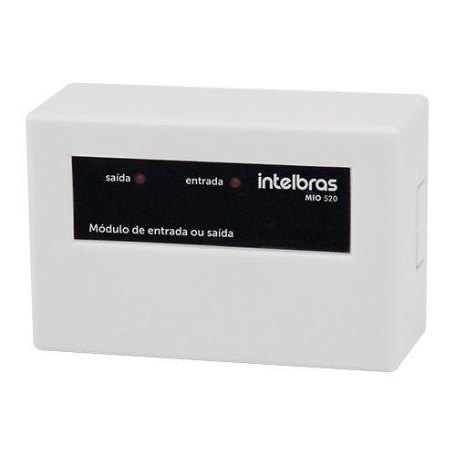 Módulo de entrada ou saída MIO 520 Intelbras  - Ziko Shop