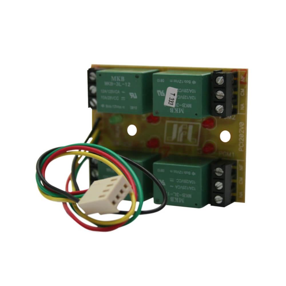 Módulo PGM JFL Comandos Remotos Compatível Centrais Alarme Active  - Ziko Shop