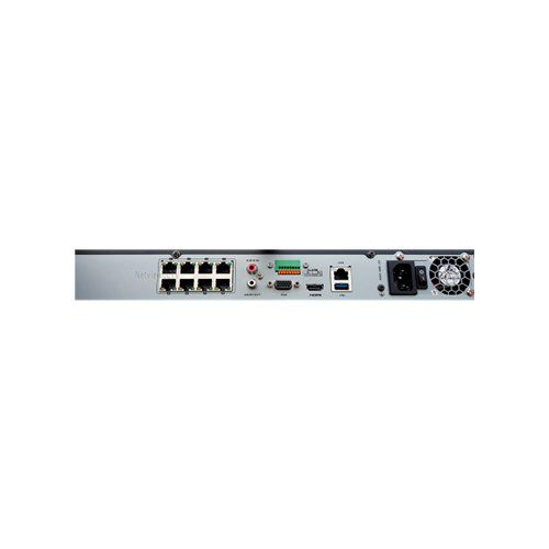 NVR Hikvision Ultra HD 8 CanaisDS-7608NI-K2/8P 4K  - Ziko Shop