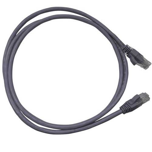 Patch Cord CAT5e UTP CM 2,5 metros cinza - Nexans  - Ziko Shop