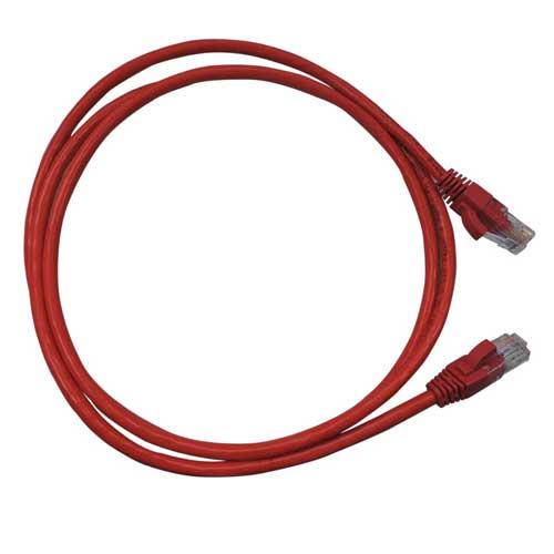 Patch Cord CAT5e UTP CM 2,5 metros vermelho - Nexans  - Ziko Shop