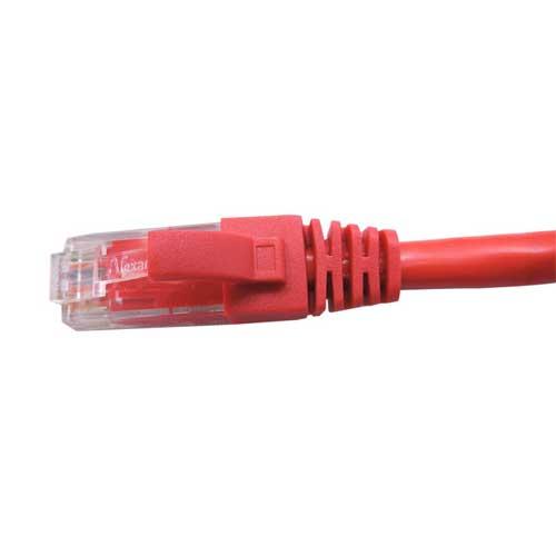 Patch Cord CAT6 UTP CM 2,5 metros vermelho - Nexans  - Ziko Shop