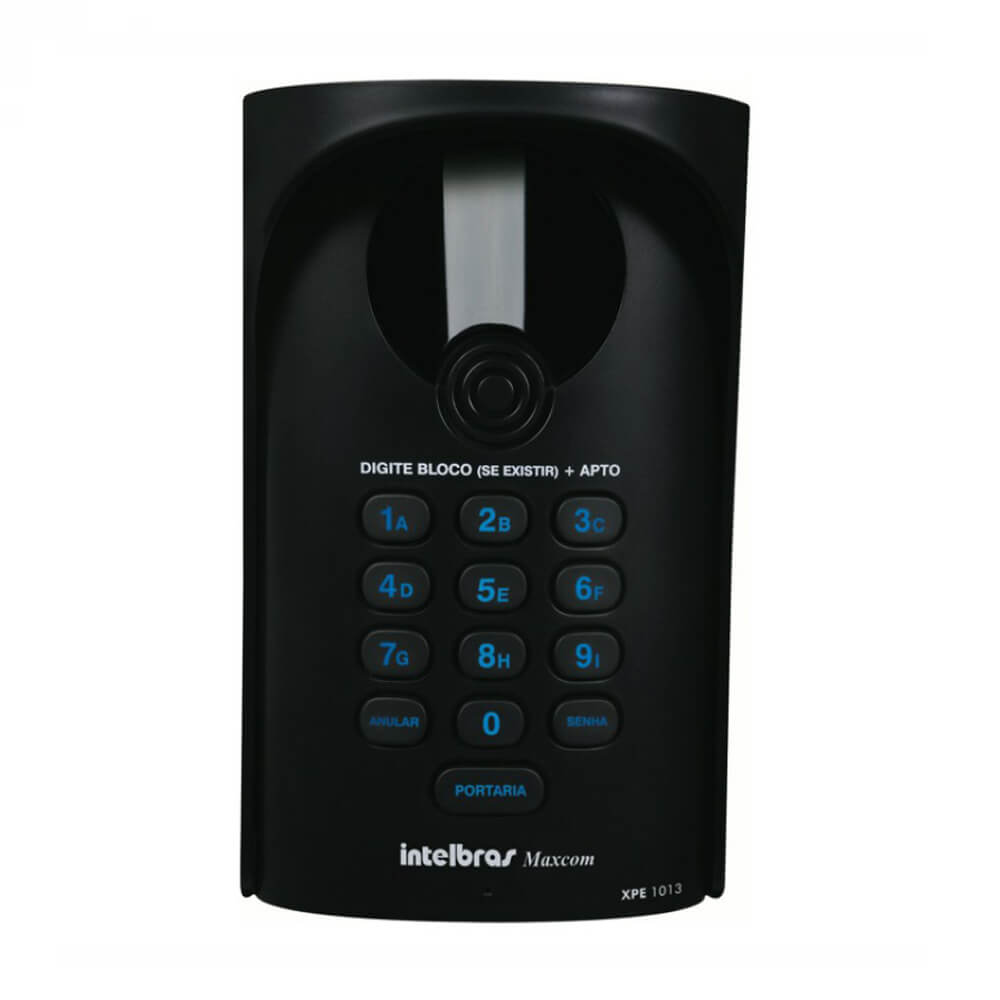 Porteiro Eletrônico Universal Intelbras XPE 1013 PLUS  - Ziko Shop