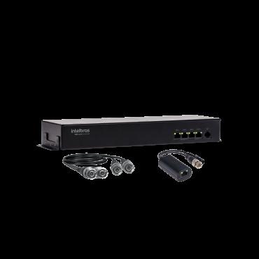 Power Balun Intelbras Full HD 4 Canais - VBP A04C Full HD  - Ziko Shop