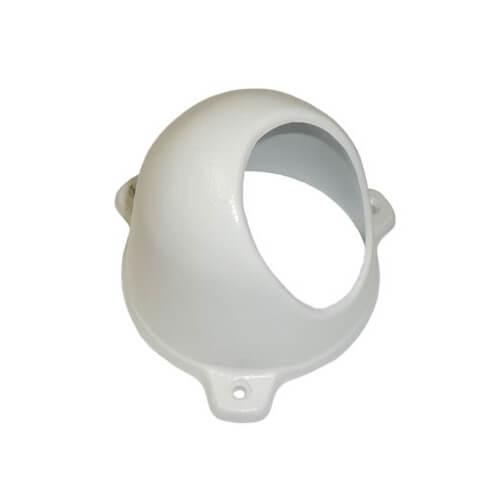 Protetor câmera Dome Anti Vandalismo Alumínio Fundido - Branco  - Ziko Shop