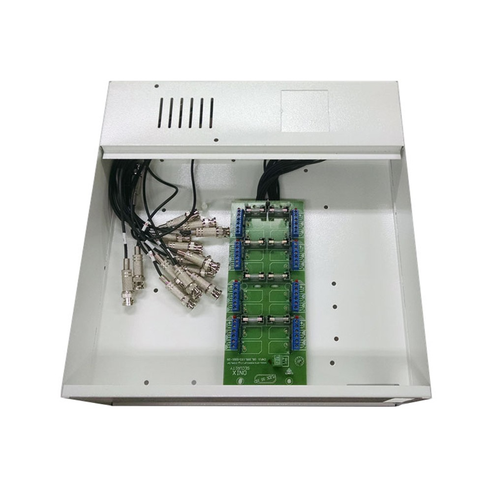 Rack Mini Iron House 8 Canais (HDCVI / HDTVI) - Onix Security (Cod. 2995)  - Ziko Shop