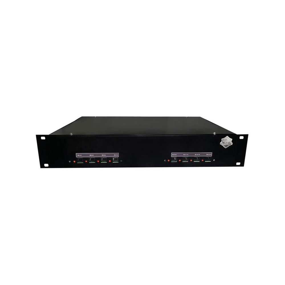 "Rack Orion HD 9000 PVT DUPLEX Onix Security - 08CH PADRÃO 19""P (Cod. 3256) - Ziko Shop"