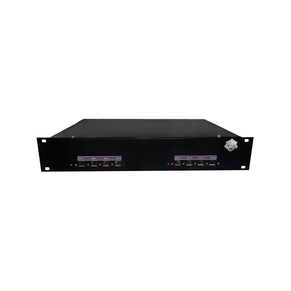 "Rack Orion HD 9000 PVT DUPLEX Onix Security - 08CH PADRÃO 19""P (Cod. 3256)  - Ziko Shop"