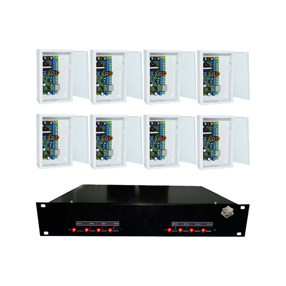 "Rack Orion HD 9000 PVT DUPLEX Onix Security - 16CH PADRÃO 16""P (Cod. 3257)  - Ziko Shop"