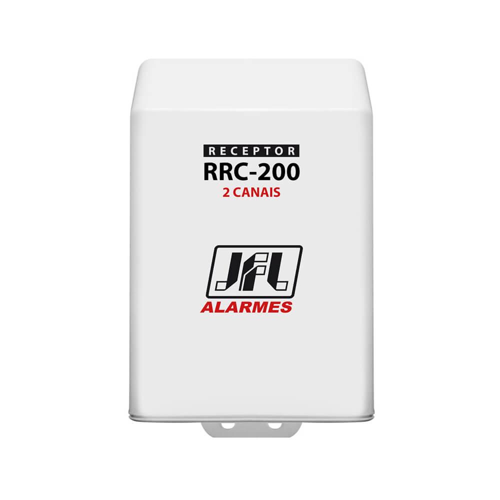 Receptor Programável JFL RRC 200, 433mhz, 2 Canais (Abertura e Fechamento) 100 Metros Sem Obstáculos  - Ziko Shop