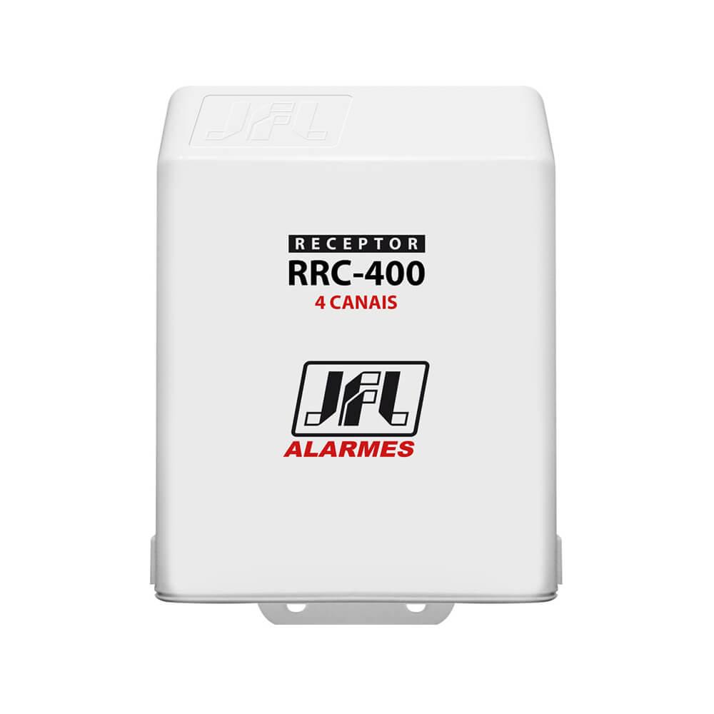Receptor Programável JFL RRC 400 4 Canais (Abertura e Fechamento) com alcance de até 100m sem obstáculos 433mhz  - Ziko Shop