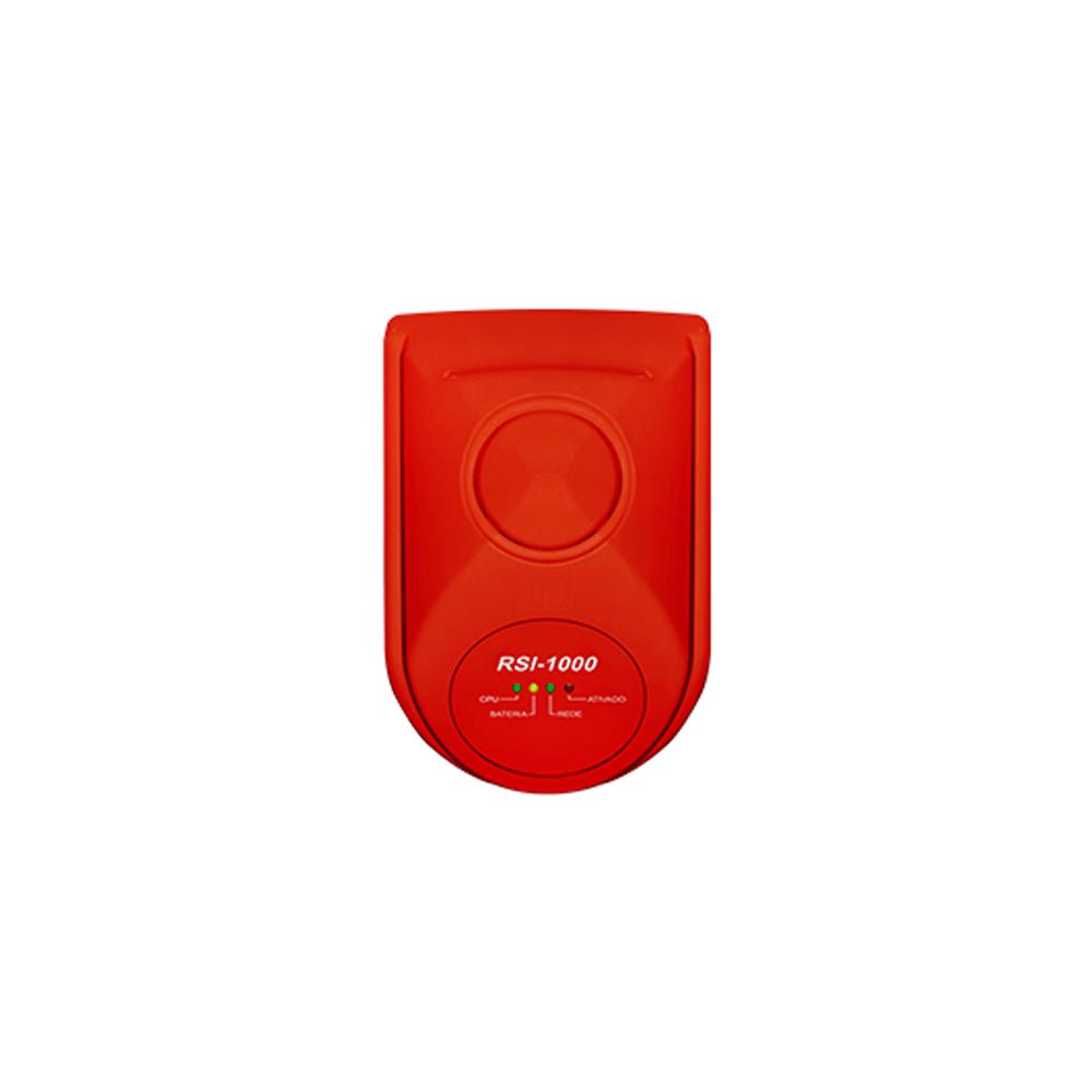 Repetidor de sinal para sistemas de alarmes de incêndio RSI-1000 JFL  - Ziko Shop