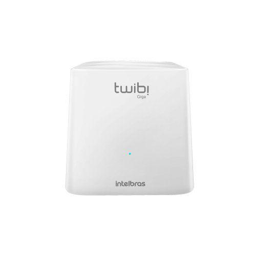 Roteador Sistema WiFi Mesh Intelbras TWIBI GIGA Dual Band 180m²  - Ziko Shop