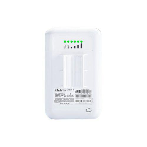 Roteador Wireless Intelbras APC 5A-15 CPE/PTP 5GHZ 15 dBi MiMo 2x2  - Ziko Shop