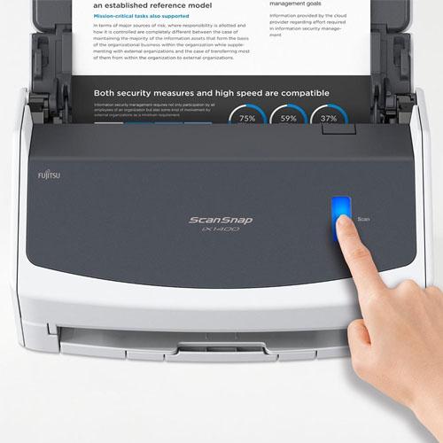 Scanner Fujitsu ScanSnap, Color, Duplex 40ppm - IX1400  - Ziko Shop