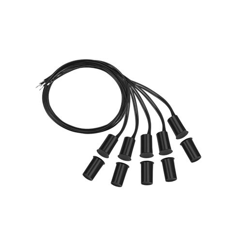 Sensor de Abertura Intelbras Com Fio XAS de Embutir Black (5 Peças)  - Ziko Shop