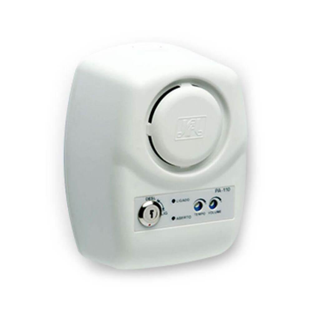 Sensor de Alarme JFL PA-110 Porta Aberta + Sirene Acoplada  - Ziko Shop