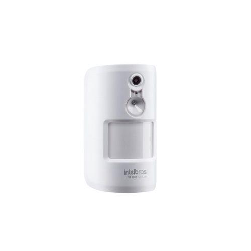 Sensor de movimento infravermelho passivo com câmera Intelbras IVP 8000 PET CAM  - Ziko Shop