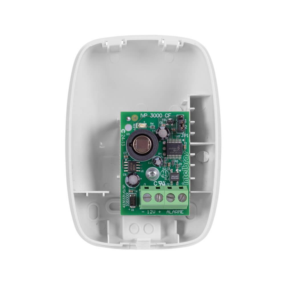 Sensor Intelbras IVP 3000 CF infravermelho passivo até 12 metros, 115°  - Ziko Shop
