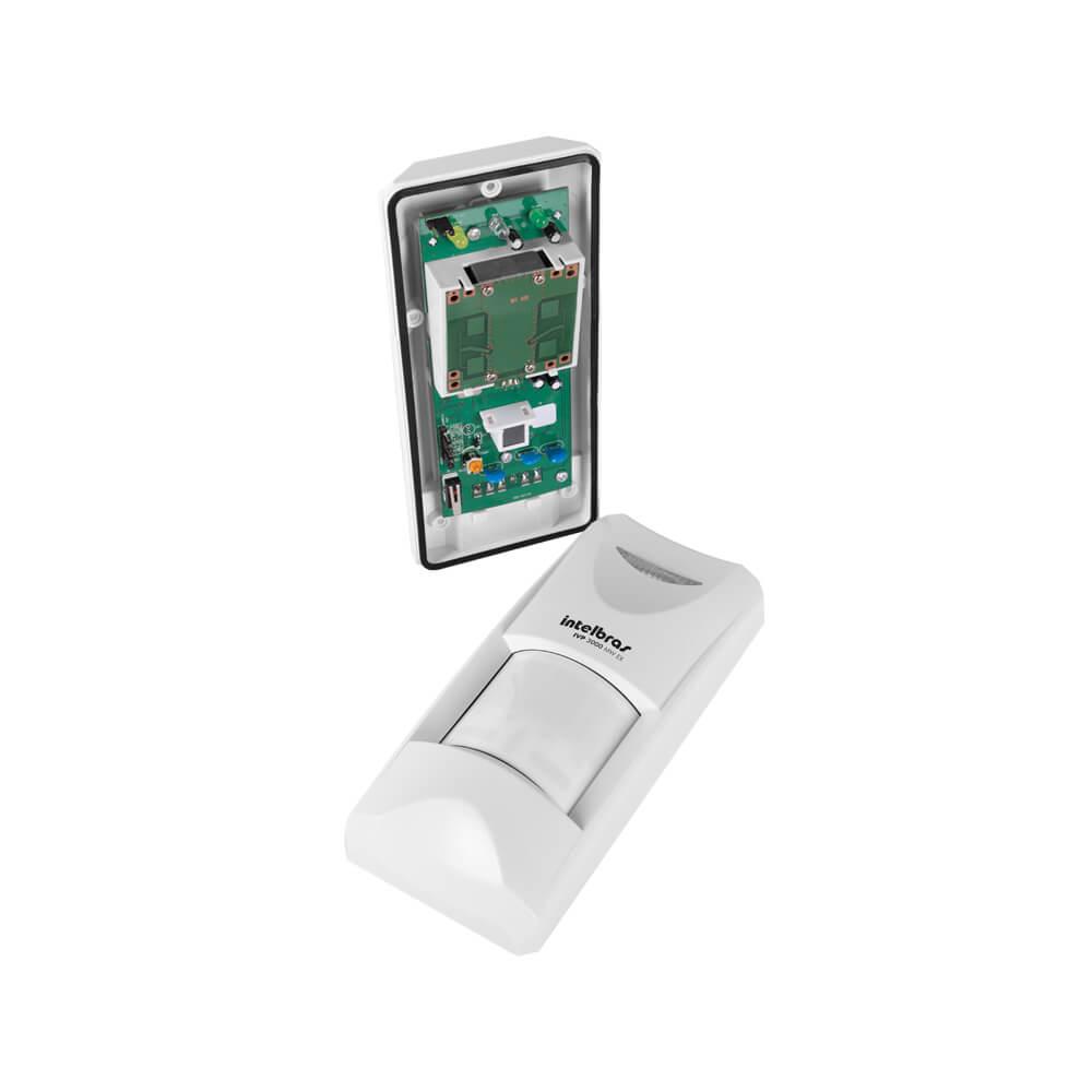 Sensor Intelbras IVP 3000 MW EX Passivo, 12m, Função PET (35Kg)  - Ziko Shop
