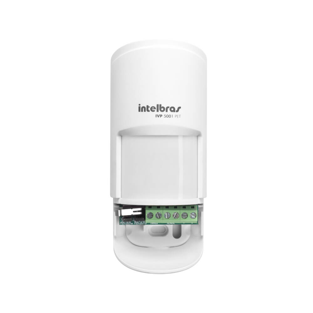 Sensor Intelbras IVP 5001 PET, Passivo, Até 12m, PET Até 20Kg, 90°  - Ziko Shop